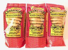 The Original Maui CookKwees Hawaii Cookies 3 Pack Set - 6 oz. Each