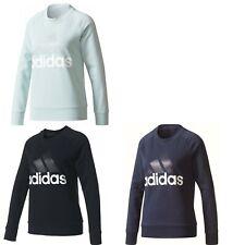 adidas Damen Frauen ESS Sweatshirt Pullover schwarz blau grün