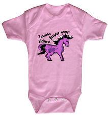 Baby Body Tausche petit Bruder justaucorps de Qualité 0-24 Mois 08377