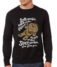 Soft Wookie, Warm Wookie, Little Ball of Fur - Mens Geek Nerd Sweatshirt Jumper