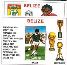 FRANCOBOLLI - BELIZE 1982:  CALCIO - FOOTBALL