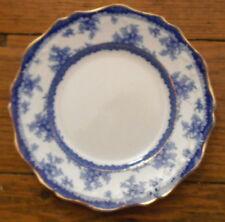 John Maddock & Sons Hamilton Cobalt Blue & White Lunch Plate