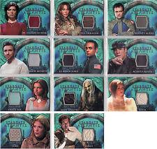 Stargate Atlantis Season 1 Costume Card Selection