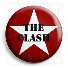 The Clash - Star - Button Badge - 25mm Punk Badges with Fridge Magnet Option