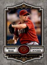 2009 UD A Piece of History Baseball Card Pick 1-200