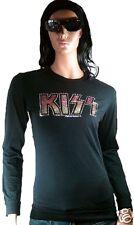 Amplified baiser, bisou strass Vip ROCK STAR pull tee-shirt L