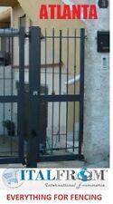 Portail (Atlanta) galvanisé fer forgé électrique clôtures en panneaux