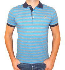 Lacoste Men's Regular Fit Striped Polo Shirt XS, XL, XXL US Size