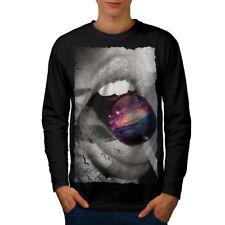 Candy Milky Way Space Men Long Sleeve T-shirt NEW   Wellcoda