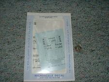 Microscale decals N 60-510 Santa Fe 50' mechanical reefers ship travel  A76