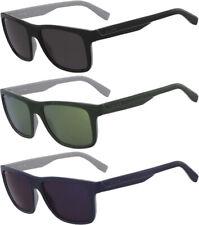 Lacoste Men's Matte Two-Tone Square Polycarbonate Sunglasses - L876S