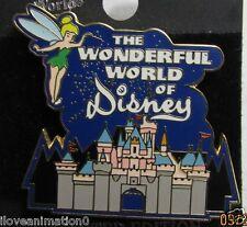 Disney Wonderful World of Disney Tinker Bell Castle LE Pin
