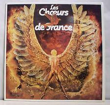 33 tours LES CHOEURS DE FRANCE Disque LP EN CONCERT PUBLIC -CHOEURS Prod. 1216 M