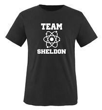 THE BIG BANG THEORY - TEAM SHELDON Herren Unisex T-Shirt by Gr. S bis XXL Vers.