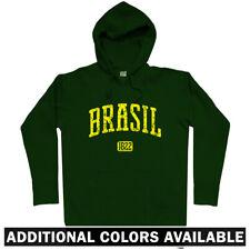 Brasil 1822 Hoodie - Brazil Rio de Janeiro Sao Paulo Capoeira Salvador Men S-3XL