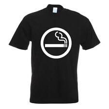 Raucher T-Shirt Motiv bedruckt Funshirt Design Print