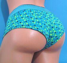 INTECO Blue Polka Dot sexy boy shorts sissy bikini panties Sz S M L