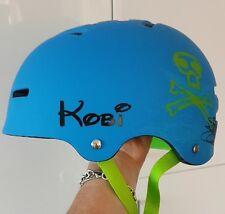 Personnalisé Nom Autocollant étiquette Autocollant Pour Enfants Filles Garçons Vélo Casque Sécurité BMX