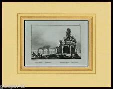 1836:CAPUA Antica, Anfiteatro.CE.Antica Stampa.AUDOT..