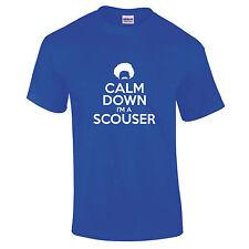 Calm Bas I'M A Scouser Restez Liverpool Merseyside Drôle Cadeau T-Shirt S-5XL