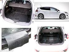 3pc boot liner load mat bumper protector Ford Kuga mk 1 anti slip natural rubber