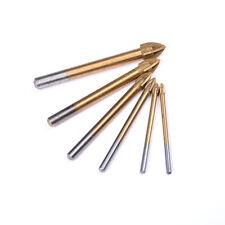 4-12mm Titanium Coated Drill Bits Alloy Carbide Point Tile Glass Bit Power SEAU