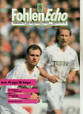BL 91/92 Borussia Mönchengladbach - VfB Stuttgart