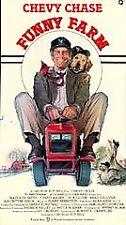 Funny Farm - Chevy Chase, Madolyn Smith - (VHS, 1993)