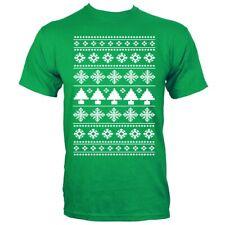Árbol De Navidad Para hombres Camiseta Verde