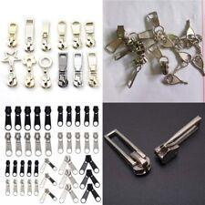 5X 3# 5# 8# 10# Zipper Slider Pull Molded Metal Repair Replacement Tailor Sewing