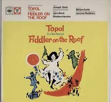 TOPOL ~ FIDDLER ON THE ROOF (ORIGINAL LONDON CAST) ~ 1967 UK 13-TRACK MONO LP