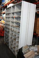 Brownbuilt adjustable steel shelving partitioned Adelaide Brown Built 4bay