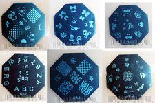 Nail Art Stamp Stamping Image Template Plate QA Series 1 (NEW) QA1~QA10 ORIGINAL