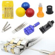 Watch Repair Tool Kit Screwdriver Remover Case Opener Pin Holder Adjuster Strap