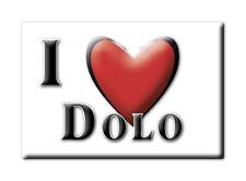 CALAMITA VENETO ITALIA FRIDGE MAGNET MAGNETE SOUVENIR I LOVE DOLO (VE)--