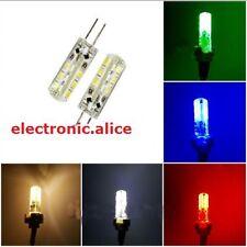 1pcs X G4 2W 2 watt 24LED SMD 3014 LED white Red Green Blue Light Bulb DC 12V
