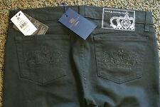 ROCK & REPUBLIC Myriad CRIMES BLACK Sample  Jeans 29X33 NWT$245 Lowrise Skinny!