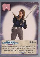 Spellfire 1995 Artifacts Ultra Rare UR Chase Killian 9 of 20 NM