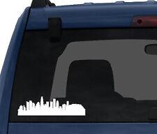 American City Skyline - Los Angeles California Silhouet - Car Tablet Vinyl Decal