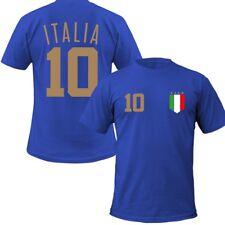ITALIEN Kinder T-Shirt + Wunschnummer auf Rücken TOP WM EM Fan Italy Team