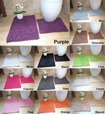 due pezzi Tappetino da bagno/tappeto & piedistallo Set 100% Cotone Lusso MOLTI