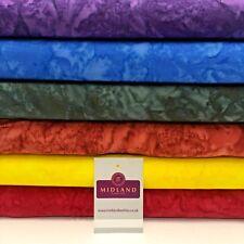 "Bali Batik Spike 100% Cotton Patchwork fabric 44"" Wide MK908"