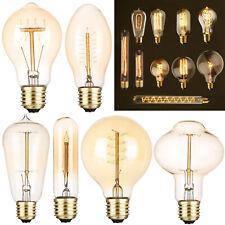 Vintage Industriel Rétro E27 LED Edison Ampoule 40W Filament Lumière Maison Déco