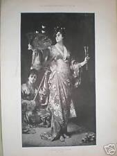 Un ventilador japonés-Play bailarín Nathaniel Sichel 1893
