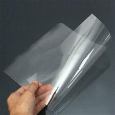 10Pcs PVC Trasparente Fogli Protezione A4 Acetato Plastica Fai da Te Artigianato