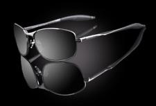 "Men Fashion Metal Frame Rectangular Design 100% UVA & UVB Sunglasses ""Scorpion"""