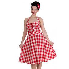 Gingham Dress 14 Pinup Dress 12 Swing Dress 10 1950s style Rockabilly Dress