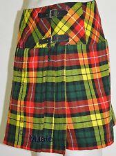 Modern Women Buchanan Tartan Billie Skirts 8 Pleated Active Prime Girls New Kilt
