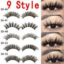 f68dd4855d3 Pack of 5 3D Fake Eyelashes Long Thick Natural False Eye Lashes Set Mink  Makeup
