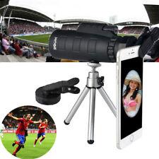 50X60 Zoom Optical Lens Monocular Telescope + Clip + Tripod For Smart Phone YZ